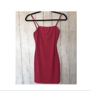 FASHION NOVA NWT HOT pink dress